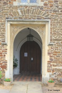 St Andrew parish church, Ampthill. South doorway.