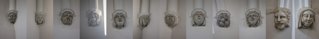 Apsley Guise, St Botolph. Corbels.