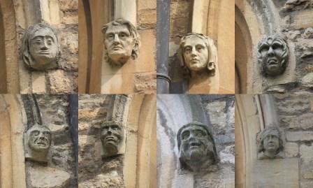Bedford - St Paul. Corbels.