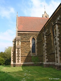 Lidlington - St Margaret. View from the north-west.