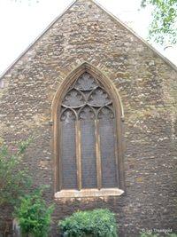 Bedford, St Peter. East window.