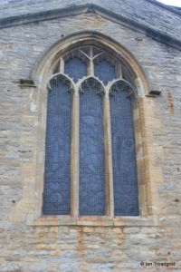 Goldington - St Mary the Virgin. Original east window.