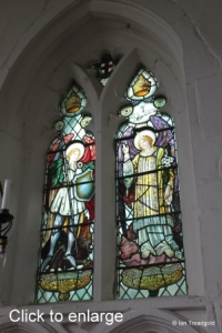 Lower Gravenhurst - St Mary. South eastern window, internal.