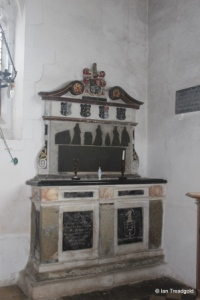Lower Gravenhurst - St Mary. Chancel monument.