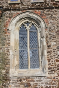 Upper Gravenhurst - St Giles. South window.