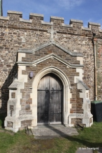 Upper Gravenhurst - St Giles. South porch.