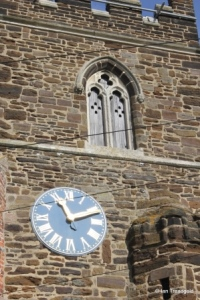 Upper Gravenhurst - St Giles. Tower clock.