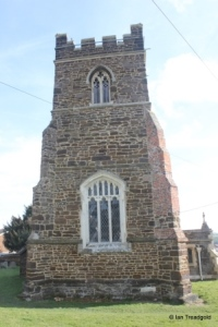 Upper Gravenhurst - St Giles. Tower from the west.