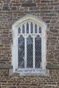 Upper Gravenhurst - St Giles. West window.