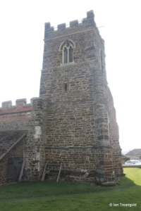 Upper Gravenhurst - St Giles. Tower from the north.