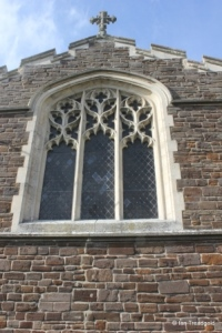 Upper Gravenhurst - St Giles. East window.