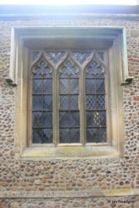 Great Barford - All Saints. North window.