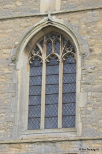 Great Barford - All Saints. West window.