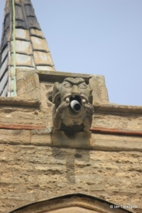 Great Barford - All Saints. Gargoyle.