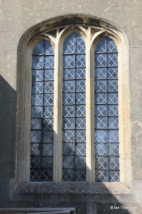 Harlington - St Mary. South aisle, south window.