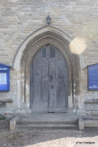 Harrold - St Peter. West door.