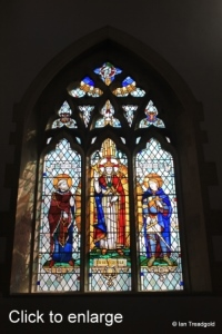 Harrold - St Peter. East window internal.