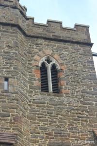 Haynes - St Mary. Belfry opening.