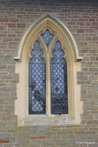 Haynes - St Mary. North aisle, centre window.