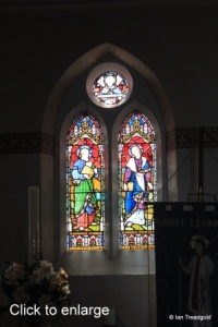Heath & Reach - St Leonard. Apse window south-east.