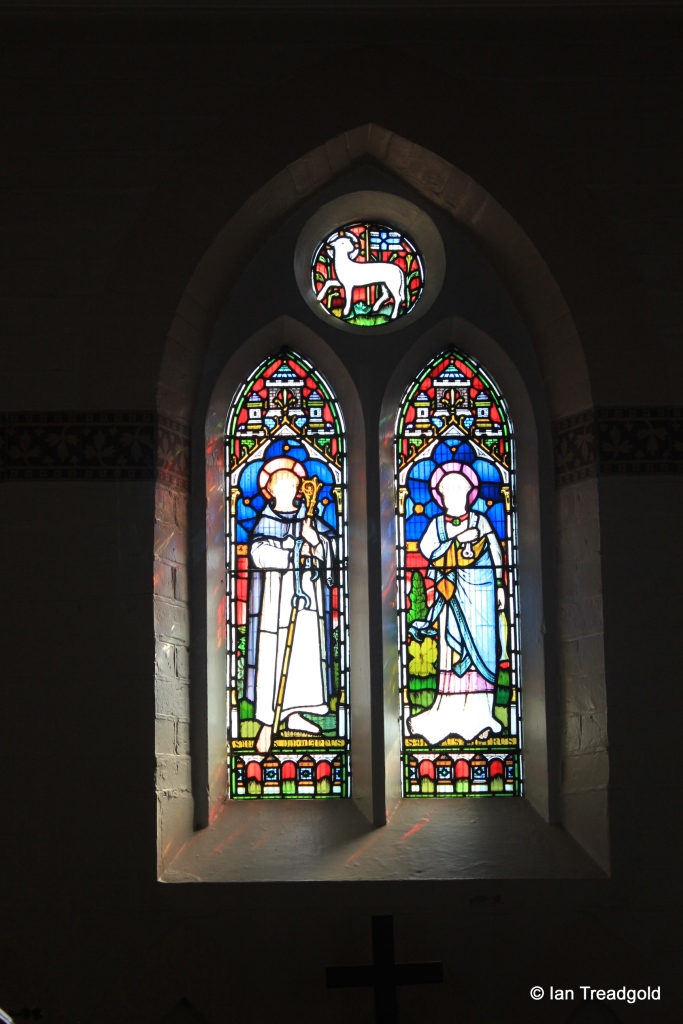 Heath & Reach - St Leonard. Apse window east.