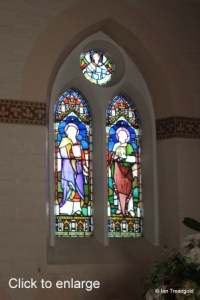 Heath & Reach - St Leonard. Apse window north-east.