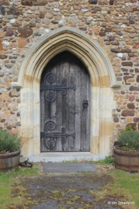 Higham Gobion - St Margaret. South door.