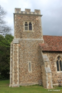 Higham Gobion - St Margaret. Tower from the south.