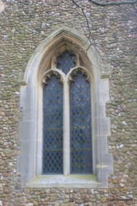 Higham Gobion - St Margaret. West window.