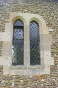 Higham Gobion - St Margaret. North window.