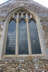 Higham Gobion - St Margaret. East window.