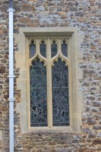 Henlow - St Mary. Chancel, south-east window.