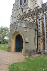 Henlow - St Mary. South porch.