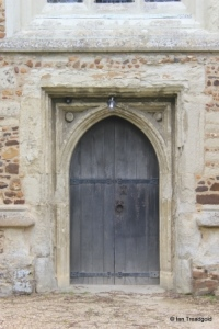 Henlow - St Mary. West door.