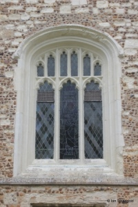 Henlow - St Mary. Tower, west window.