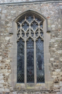 Henlow - St Mary. North aisle window.