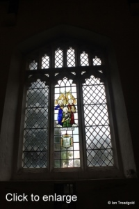 Henlow - St Mary. South aisle, south window internal.