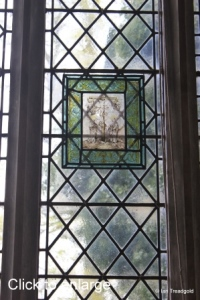 Henlow - St Mary. North aisle window, internal.