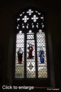 Henlow - St Mary. North aisle window internal.