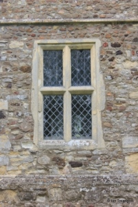 Hulcote - St Nicholas. West window.