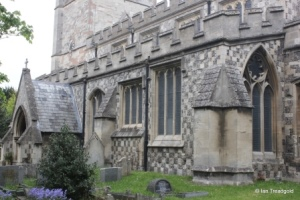 Houghton Regis - All Saints. South aisle.