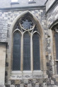 Houghton Regis - All Saints. South aisle, east window.