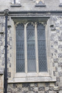 Houghton Regis - All Saints. South aisle, south-east window.