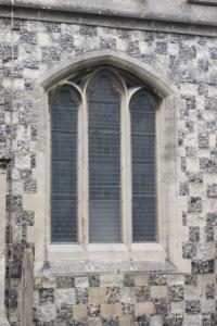 Houghton Regis - All Saints. South aisle, central  window.