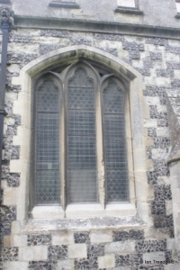 Houghton Regis - All Saints. North aisle, central window.