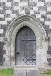 Houghton Regis - All Saints. North doorway.