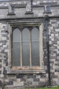 Houghton Regis - All Saints. North aisle, north-east window.