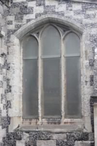 Houghton Regis - All Saints. North aisle, east window.