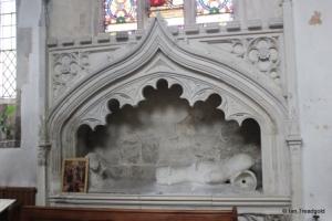 Houghton Regis - All Saints. Sewell tomb.