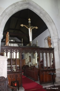 Houghton Regis - All Saints. Rood screen.